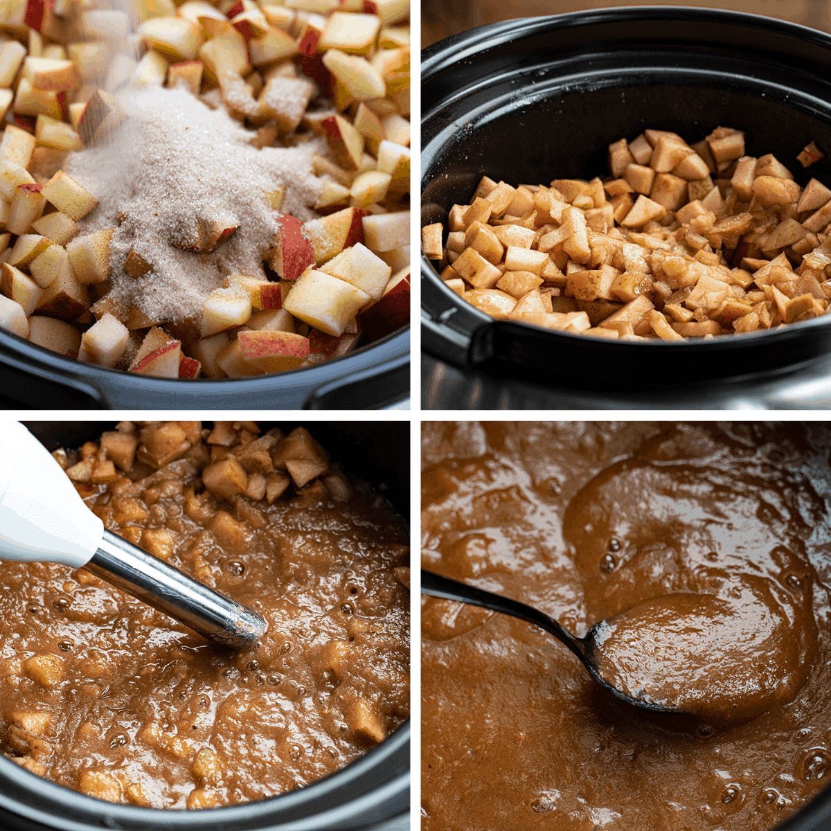 Processes for Making Apple Butter