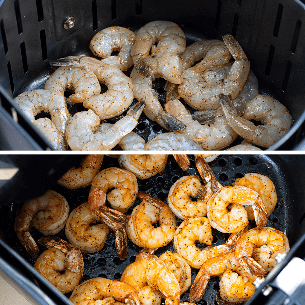 Process of How to Add Shrimp to Air Fryer