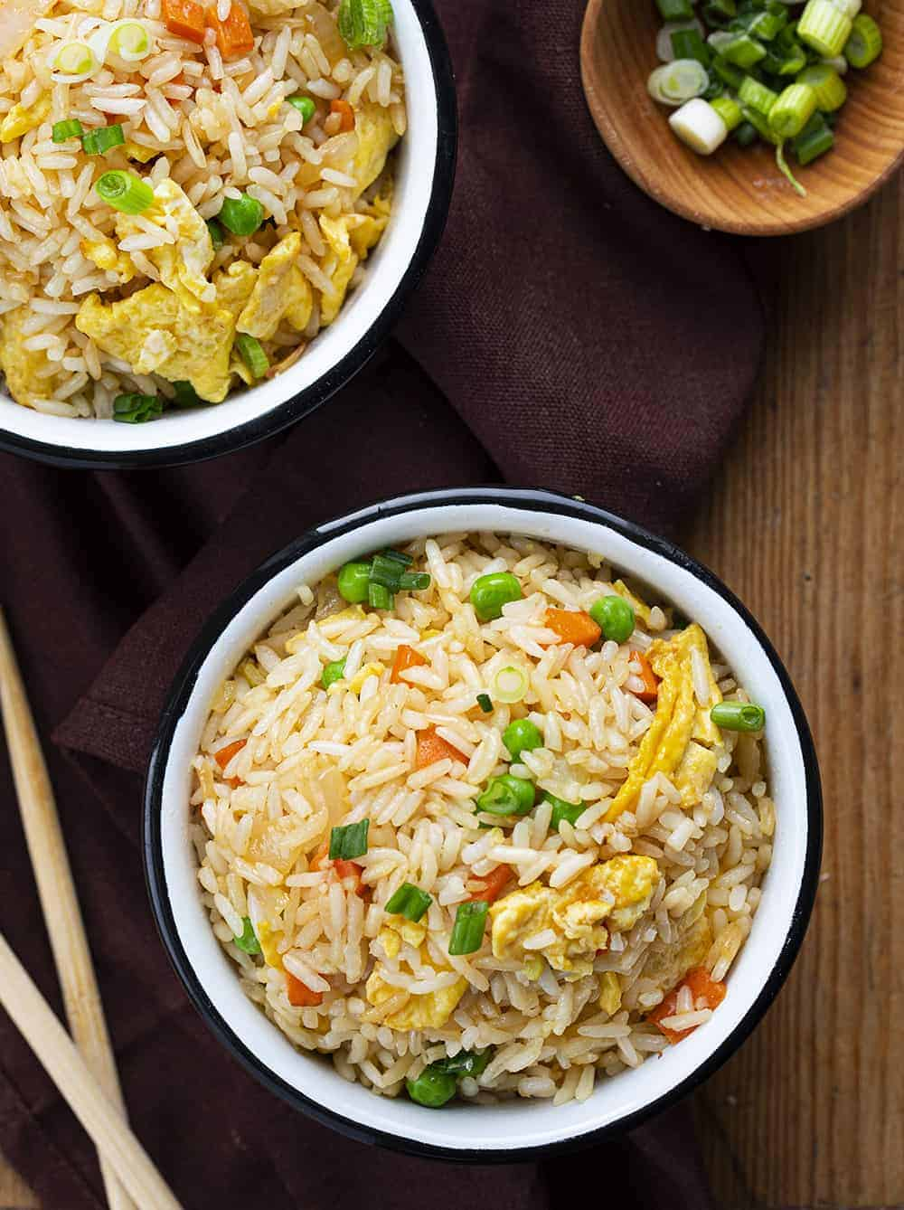 Bowls of Fried Rice