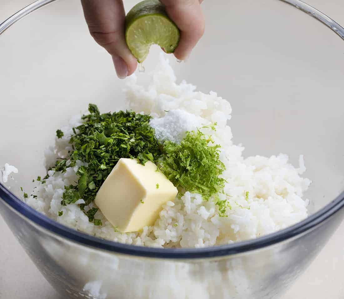 How to Make Cilantro Rice