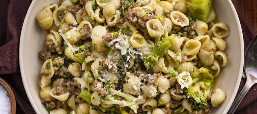Broccoli and Sausage Pasta