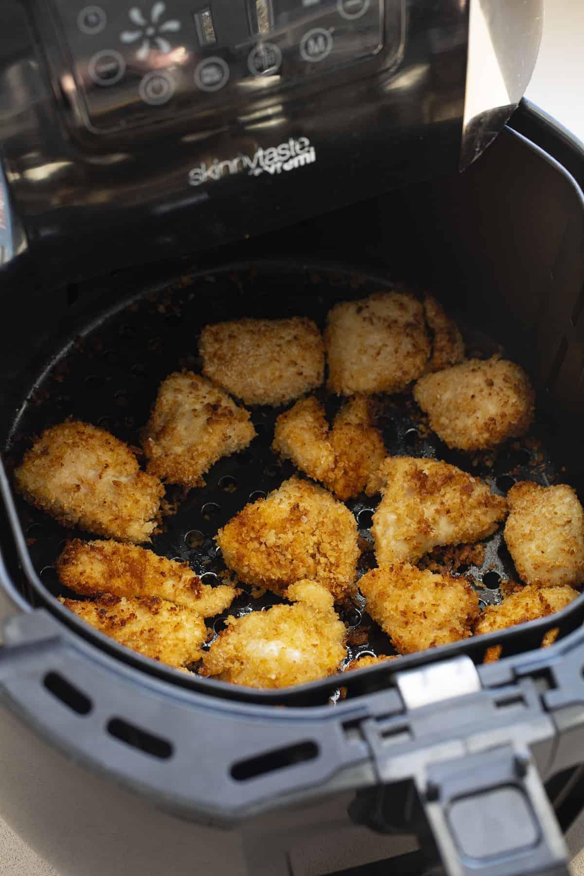 Air Fryer Crispy Chicken Nuggets