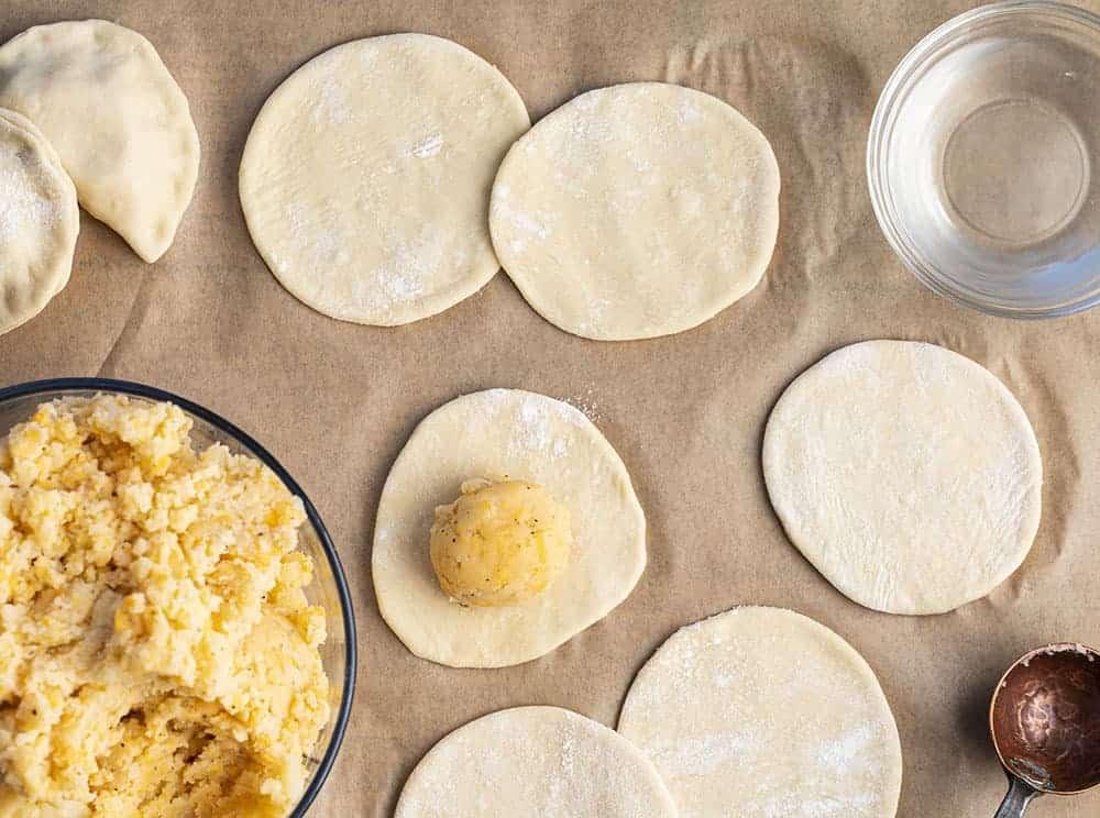 How to Make Pierogi Ruskie (Potato and Cheese Pierogi)