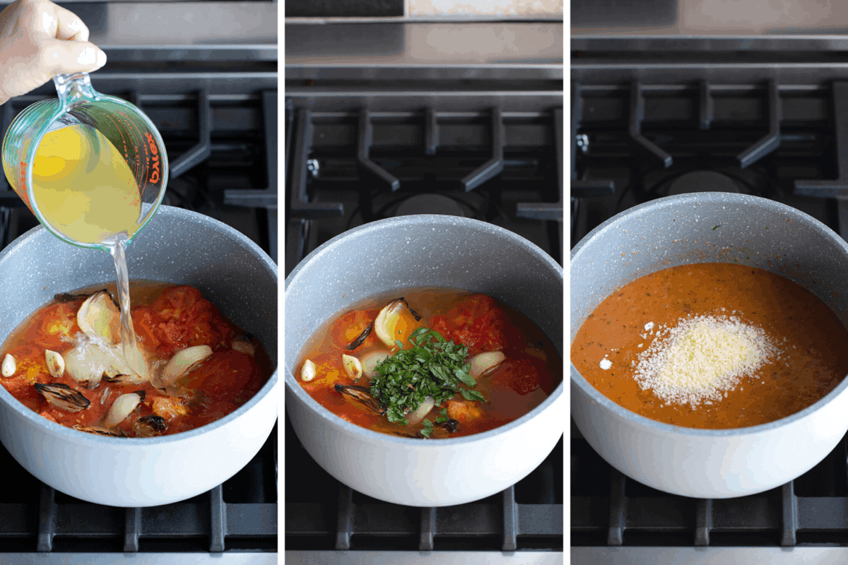 How to Make Air Fryer Roasted Tomato Soup Recipe