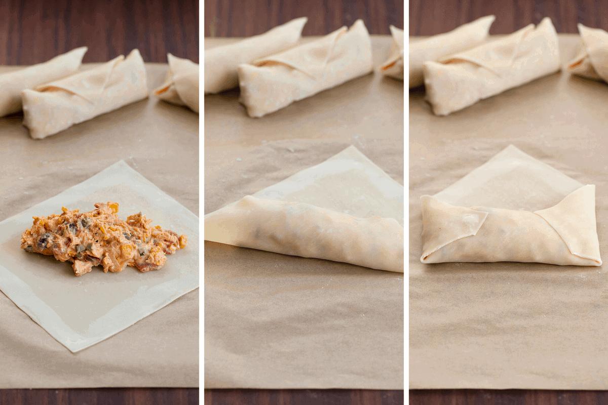 How to Wrap Eggrolls for Air Fryer Southwest Eggrolls