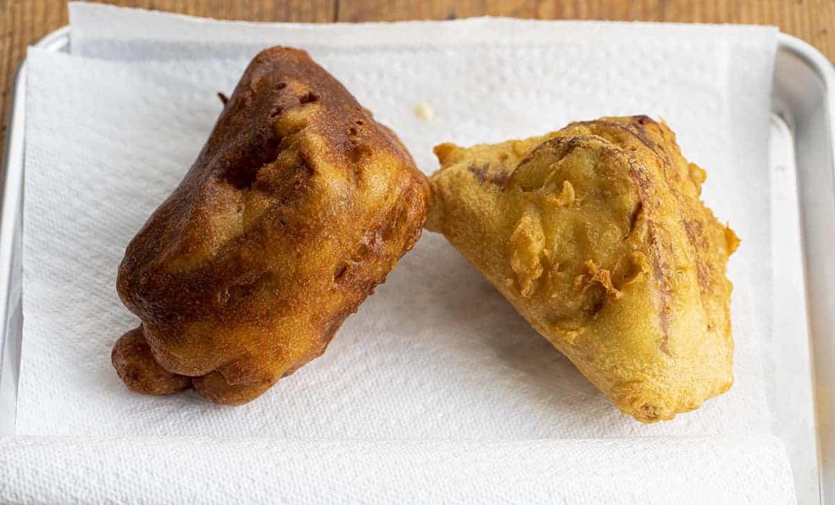 Monte Cristo Sandwich - Bennigan's Copycat. One cooked longer.