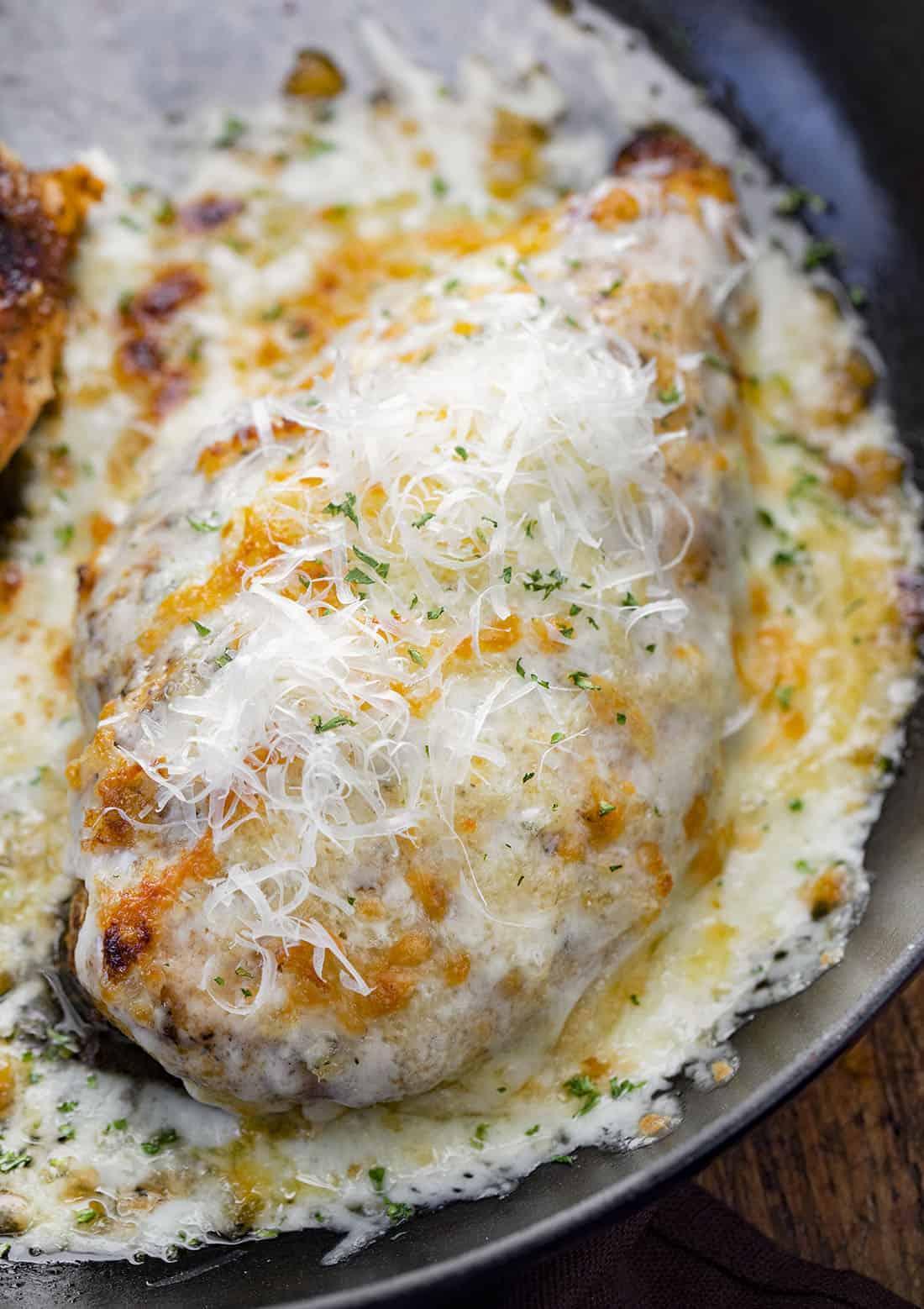 Cheesy Parmesan Ranch Chicken