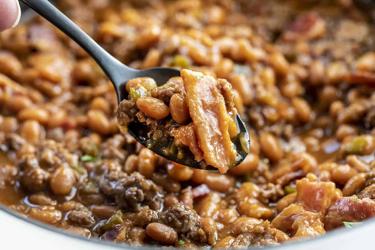 Spoonful of Hot Cowboy Beans