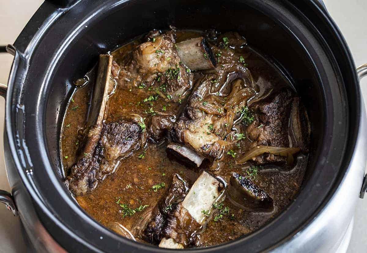 Crockpot Braised Short Ribs Recipe
