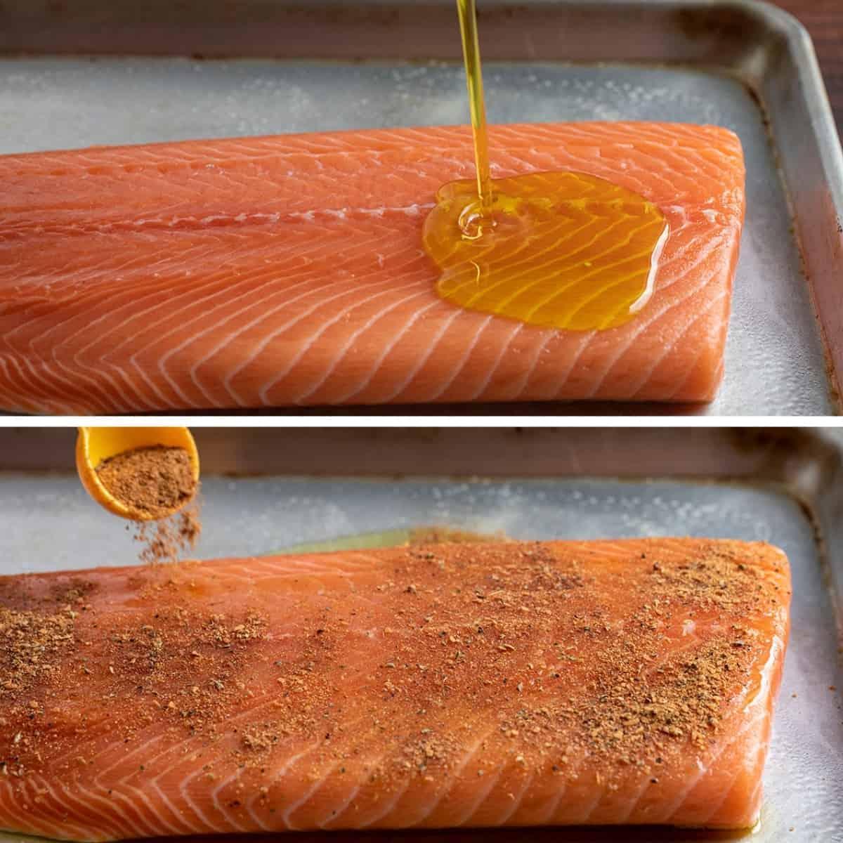 Preparing Salmon for Blackened Salmon